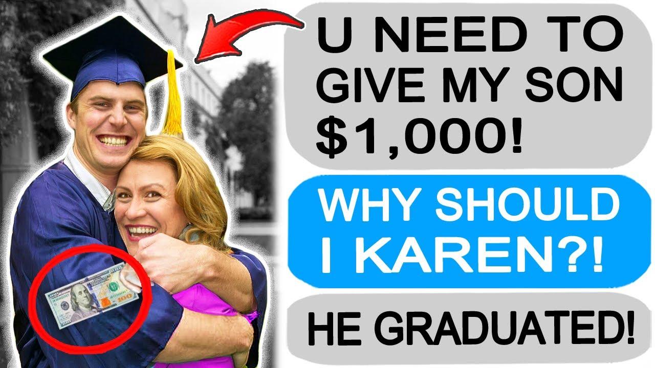 r/Entitledparents KAREN DEMANDS MY CASH!