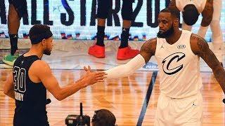 2018 NBA All-Star Game - Team LeBron vs Team Stephen
