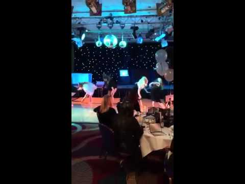 Rihanna contemporary dance at Toby Henderson Trust Charity night