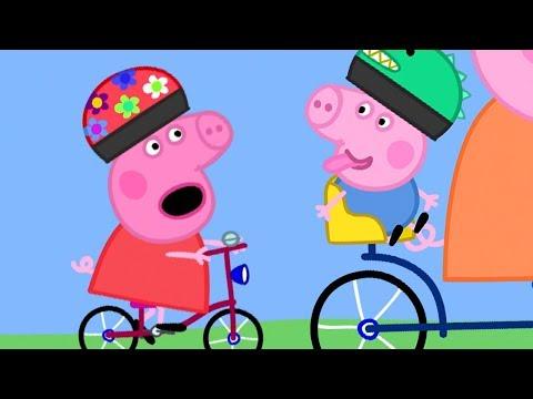 小猪佩奇 第三季 全集合集 | 七夕情人节特辑 - 骑双人自行车 | 粉红猪小妹|Peppa Pig | 动画