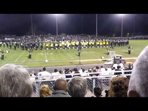 20141025 University of Idaho Marching Band at Vallivue High School - part 1