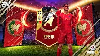 96 RONALDO IN A PACK!! AGAIN!!!   FIFA 18 ULTIMATE TEAM