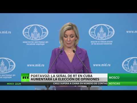 RT en Español: Cancillería de Rusia: La señal de RT en Cuba contribuirá a la diversidad de opiniones