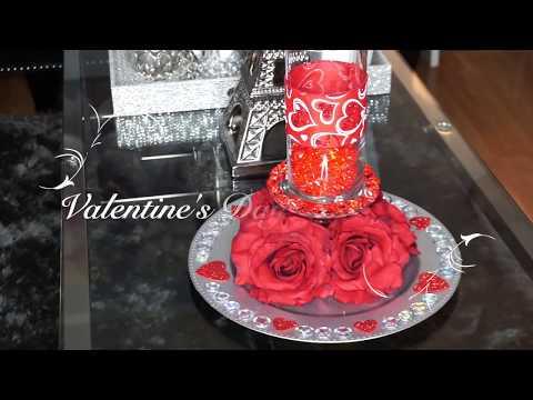 Dollar Tree Valentines Day Centerpiece DIY