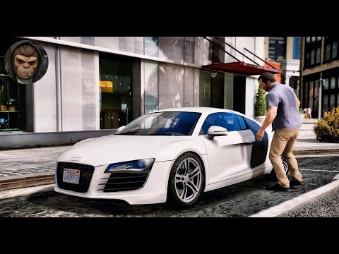 ► GTA 6 Graphics - ✪ REDUX - Audi R8 Gameplay! Ultra Realistic Graphic ENB MOD PC - 1080p 60 FPS