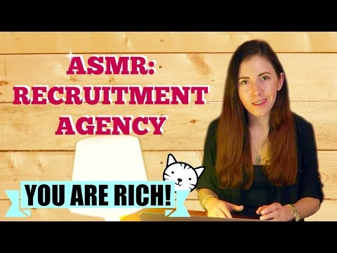 ASMR in an agency. Roleplay Private Chef for your new house. You are rich!