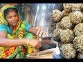 How to make Puffed rice | Village food Khoi Muri Murki | Puffed rice sweet ball