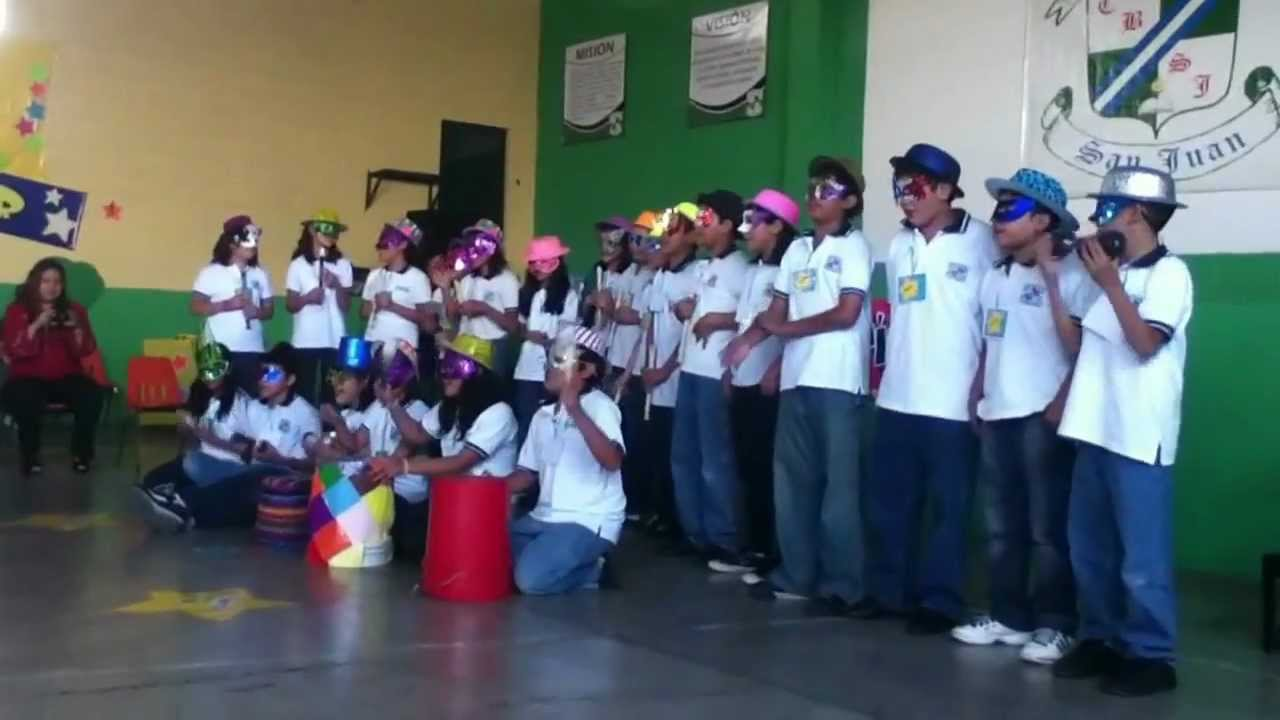 Colegio Bilingue San Juan Acto De 5to B 2012 Youtube