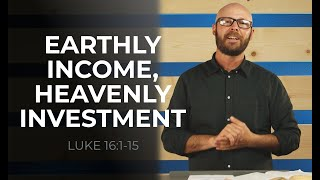 EARTHLY INCOME, ETERNAL INVESTMENT   Sunday Service ONLINE 6.6.21   HBC