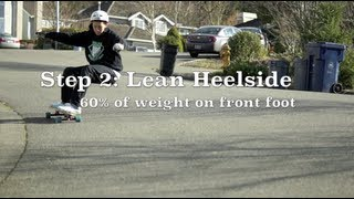How to stand up slide on a longboard