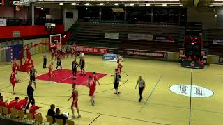 DENNIS MAVIN GIESSEN 46ERS FULL GAME FOOTAGE 2-24-18   BLACK JERSEY #22