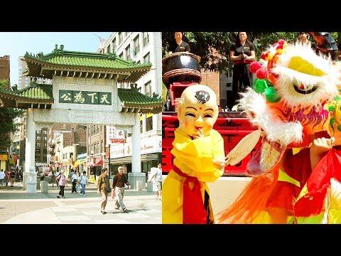 2017 Lion Dance Kids & Cub Performance Chinatown Boston Gund Kwok - Young Children Buddha Múa Lân