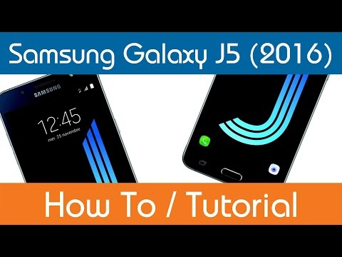 How To Access The User Manual - Samsung Galaxy J5