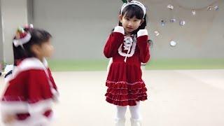 広島クレドクリスマスイベントで赤鼻のトナカイをおどりました。 Himeno...