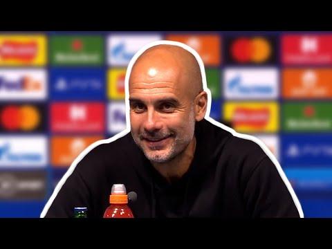 Pep Guardiola - Man City 6-3 RB Leipzig - Post-Match Press Conference - Champions League