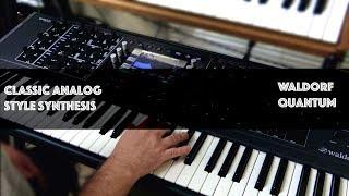 Analog Style Sounds- Waldorf Quantum