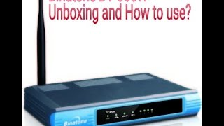 Binatone DT 850W wifi modem and Router unboxing and how 39 s it work Hindi