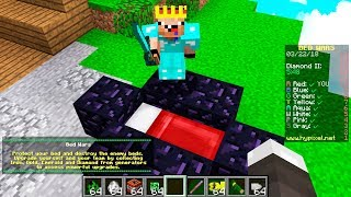 ADMIN GIVES TROLL OP IN MINECRAFT BED WARS!