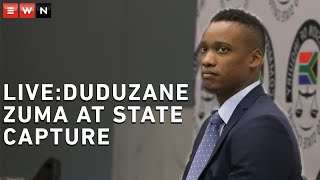 DAY 2 -  Duduzane Zuma at the Commission into State Capture: Duduzane Zuma continues to testify a...