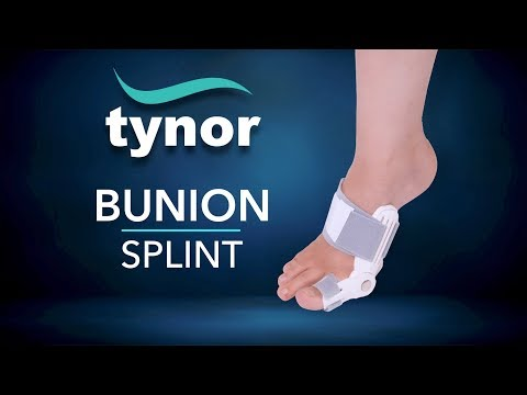How To Wear Tynor Bunion Splint To Correct The Hallux Abducto Valgus Deformity Of The Big Toe