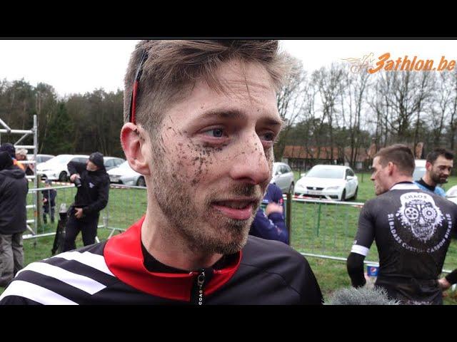 Cross duatlon Retie 2020- Interview Tim Van Hemel