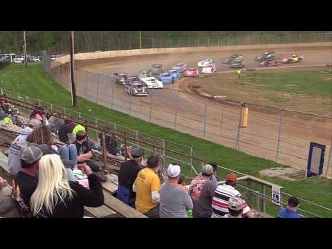 Twin Cities Raceway Park | 4.23.17 | Crate Late Models | Feature