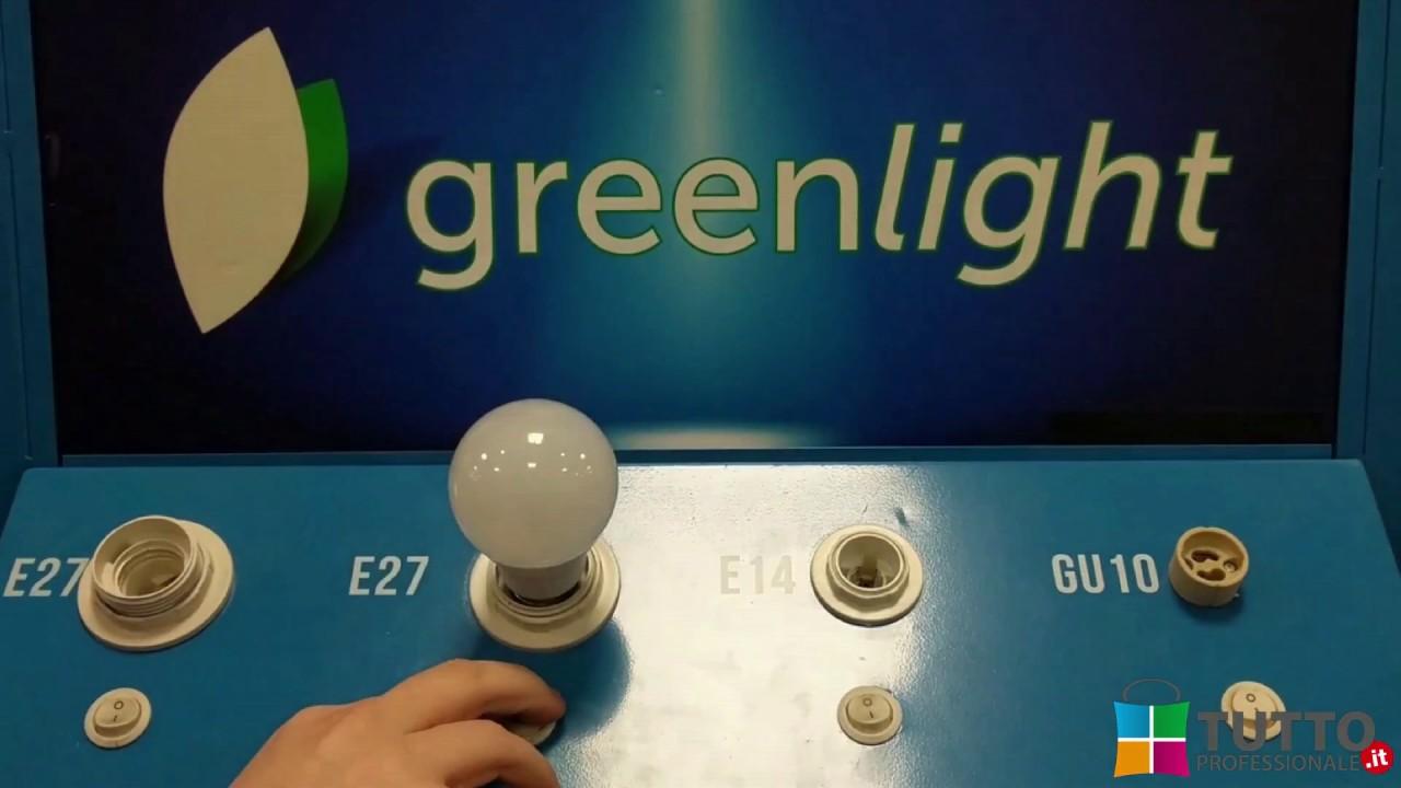 Come funziona la lampadina LED Regolabile per risparmio energetico - TuttoProfessionale.it - YouTube