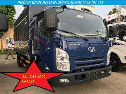 Xe tải 2T4 Đô Thành IZ65 tiện nghi không khác gì xe du lịch | Hotline 0908191455 - YouTube