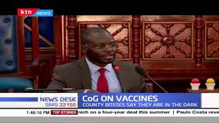 Governors call for more involvement in roll-out of Covid-19 vaccine expected to land in the country
