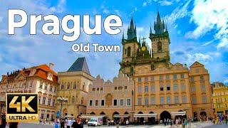 Prague, Czech Republic Walking Tour - Old Town (4k Ultra HD 60fps)