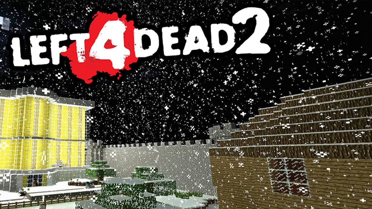 MINECRAFT ON L4D2!! - Left 4 Dead 2: Deathcraft II Campaign Mod
