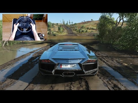 Forza Horizon 4 - LAMBORGHINI REVENTON - OFF-ROAD With THRUSTMASTER TX + TH8A - 1080p60FPS