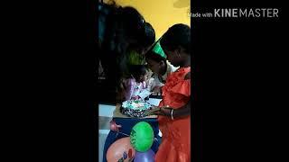 How i celebration my baby 1st year birthday 7-7-2018🎂