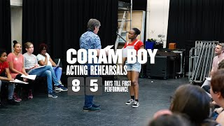Coram Boy: Acting company first rehearsal