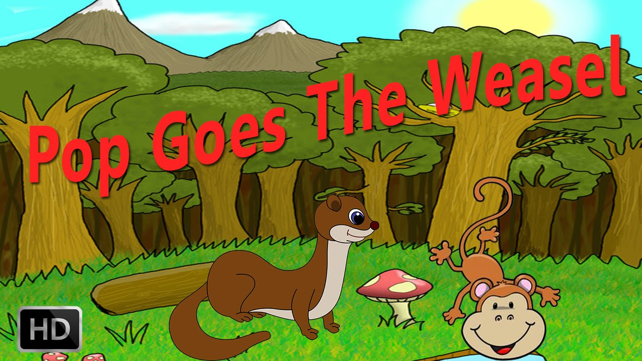 Pop Goes The Weasel - Nursery Rhymes - Baby Songs - Kids Songs - Preschool Rhymes - YouTube