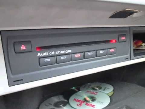 141005 Audi A8 Cd Changer Youtube