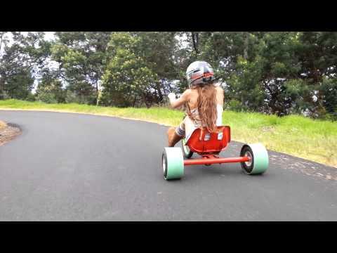 Drift Trike girl Polipoli Maui HI:)