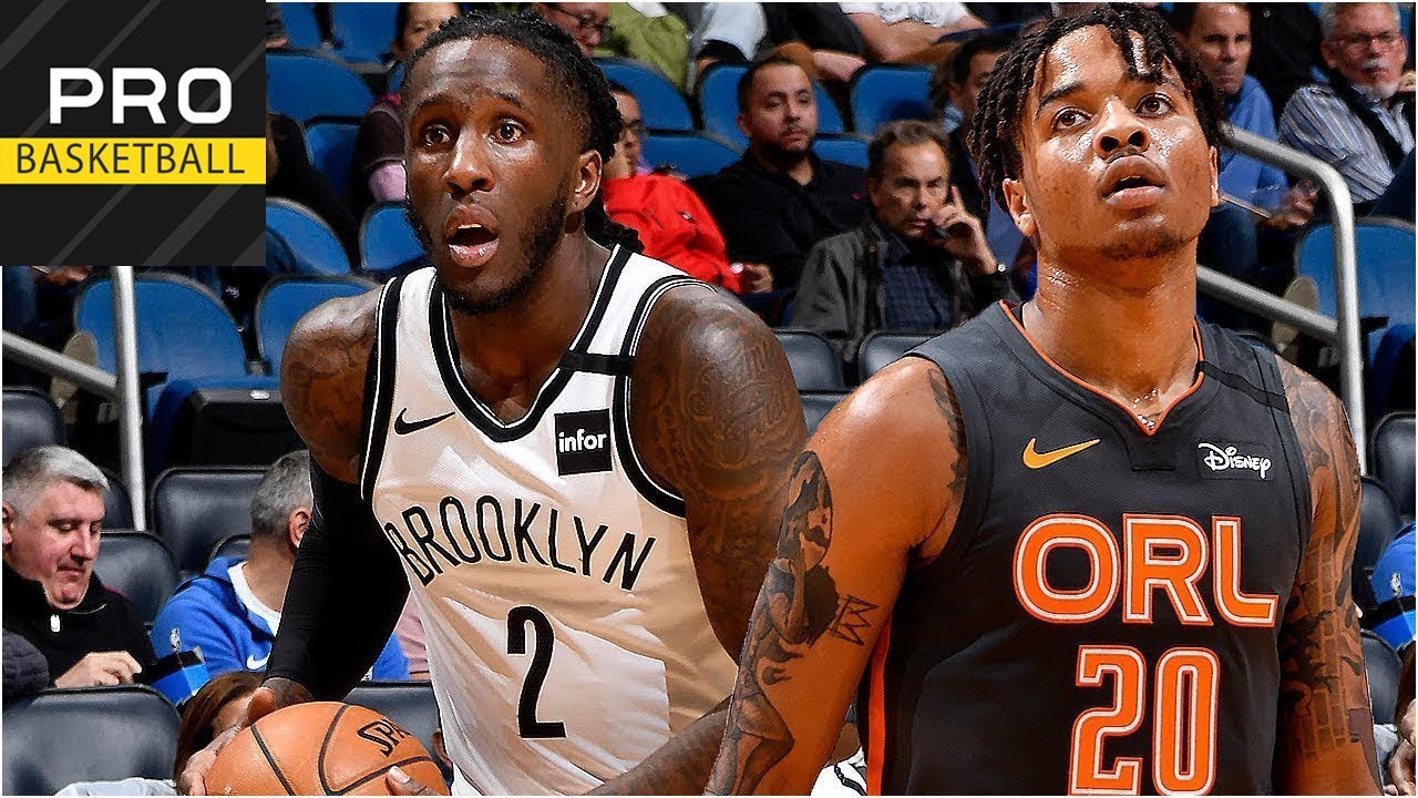 Brooklyn Nets vs Orlando Magic | Feb. 24, 2019 | 2019-20 NBA Season | Обзор матч MyTub.uz