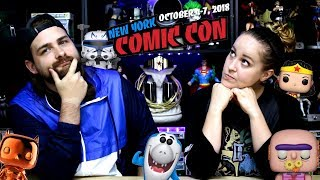2018 NYCC Funko Reveals | DC, Marvel, Video Games, Star Wars, Hanna Barbera, TV Animation + more
