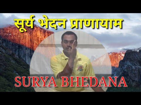 Surya Bhedana Pranayam - Gurucharan