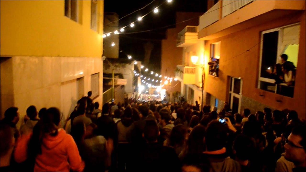 Tablas de San Andrés 2014 Icod de los Vinos - YouTube