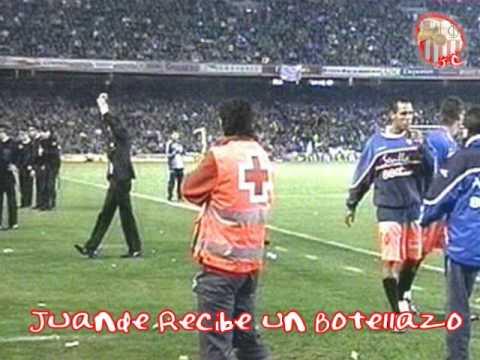 Juande Ramos Inconsciente (Partido Copa del Rey R. Betis vs Sevilla FC) JC