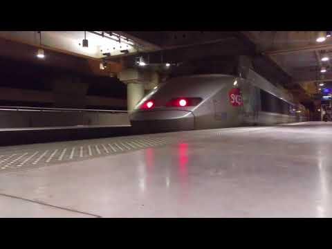 Détournement des TGV de Paris Montparnasse vers Paris Austerlitz, partie 1