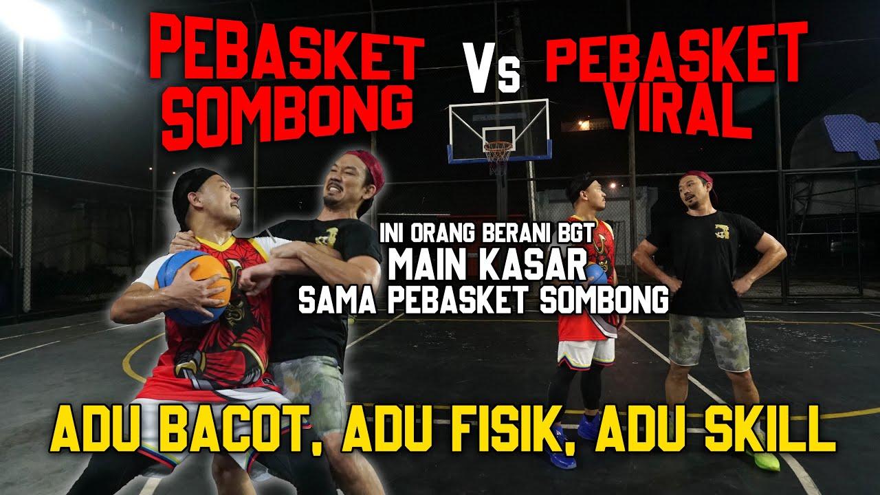 PEBASKET SOMBONG VS PEBASKET VIRAL!! YUKINOBU jaganya serius banget, gw ampe dibanting