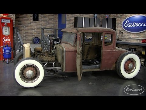 Lowering Your Hot Rod - How to Channel a Ford Model A with Eastwood