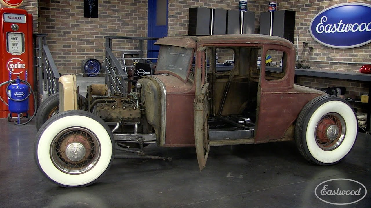 hight resolution of lowering your hot rod how to channel a ford model a with eastwood youtube