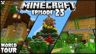 FIRST EVER Python Plays Minecraft World Tour! | Python Plays Minecraft Survival [Episode 25]