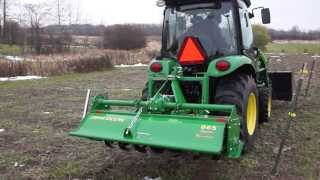 Farming with a John Deere Tiller 665