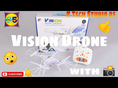 Vision Drone Review With WiFi Camera | Tech Studio 85 | Under ₹ 2000 |