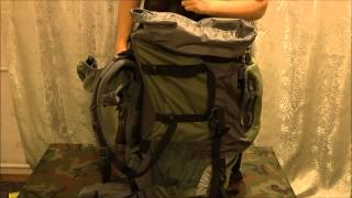 как правильно укладывать туристический рюкзак в поход